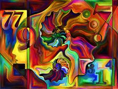 Synergies of Division - stock illustration