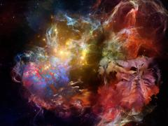 Advance of Dream Space Stock Illustration