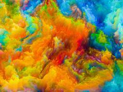 Visualization of Colors - stock illustration