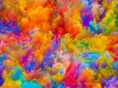 Depth of Colors - stock illustration