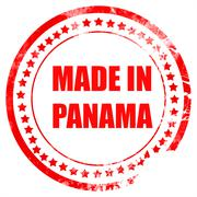 Made in panama - stock illustration