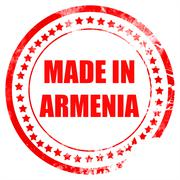 Made in armenia - stock illustration