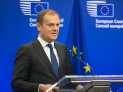 President of the European Council Donald Tusk - stock photo