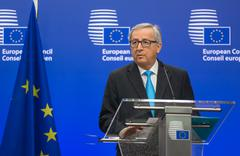 European Commission President Jean-Claude Juncker - stock photo