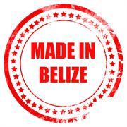Made in belize Stock Illustration