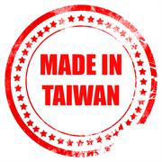 Made in taiwan Stock Illustration