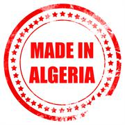 Made in algeria Stock Illustration
