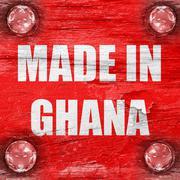 Stock Illustration of Made in ghana
