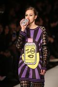 DB Berdan Catwalk in Mercedes-Benz Fashion Week Istanbul - stock photo