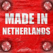 Made in the netherlands - stock illustration