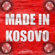 Stock Illustration of Made in kosovo