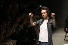 Murat Aytulum Catwalk in Mercedes-Benz Fashion Week Istanbul - stock photo