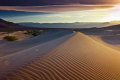 Desert Death Valley - stock photo