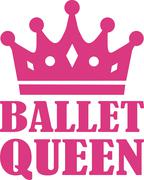 Ballet Queen Stock Illustration