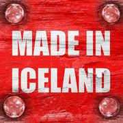 Made in iceland Piirros
