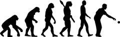Boccia Evolution Stock Illustration