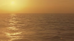 Sunset On The Ocean In The Florida Keys Stock Footage