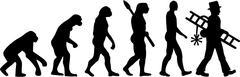 Chimney Sweeper Evolution Stock Illustration