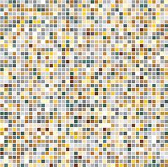 Multicoloured tiles. Mosaic. Eps 10. Stock Illustration