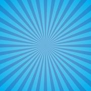 Vector abstract colored rays of the sun. Stock Illustration