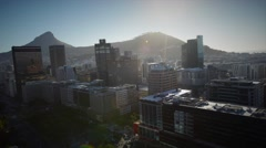 Cape Town bcd Stock Footage