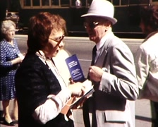 Stock Video Footage of Liberal Party on the Street, Political Campaign (early 1980s) Australia