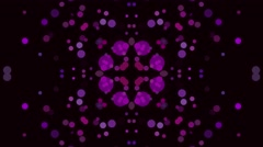 Black ad Purple Background Pattern. Seamless Looped Art Animation for Stock Footage