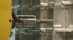 Close-Up of Grinding Heavy Industry Stock Footage