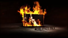 FRAMES IN FLAMES Stock After Effects