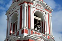 Temple of the Great Martyr Nikita on Staraya Basmannaya Street, Moscow, Russia Stock Photos