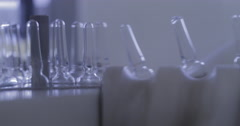 Pharmaceutical And Medicine Manufacturing (4K) Stock Footage