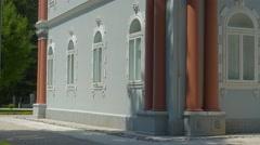 Cetinje Blue Palace Stock Footage