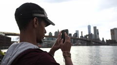 Social Media picture - stock footage