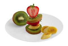 fruit on the table - stock photo