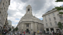 United Grand Lodge of England in London Stock Footage
