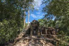 Angkor Banteay Kdei Stock Photos