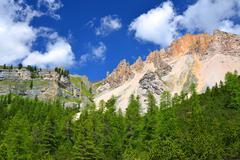 Fanes Park, Dolomites - Italy Stock Photos