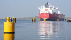 Tanker STI Connaught Stock Footage