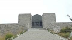 Njegos mausoleum Lovcen Stock Footage