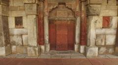 Ali Isa Khan tomb - India - stock footage