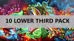 10 lower third pack Stock After Effects