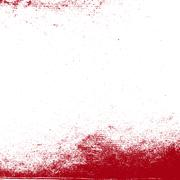 Grunge Red Texture - stock illustration