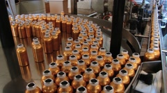 Perfume bottles at the Fragonard perfume factory in Grasse, France. Stock Footage