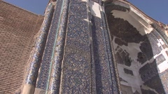 Blue Mosque of Tabriz, Iran (3).mp4 Stock Footage
