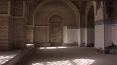 Blue Mosque of Tabriz, Iran (4).mp4 Stock Footage