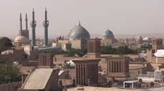 Old town of Yazd, Iran (3).mp4 Stock Footage