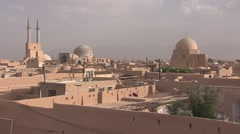 Old town of Yazd, Iran.mp4 Stock Footage