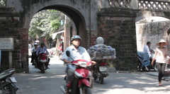 Old City of Hanoi Stock Footage