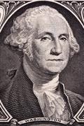 George Washington, portrait Stock Photos