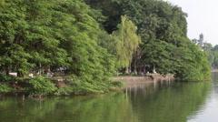 Ho Tay Lake Stock Footage